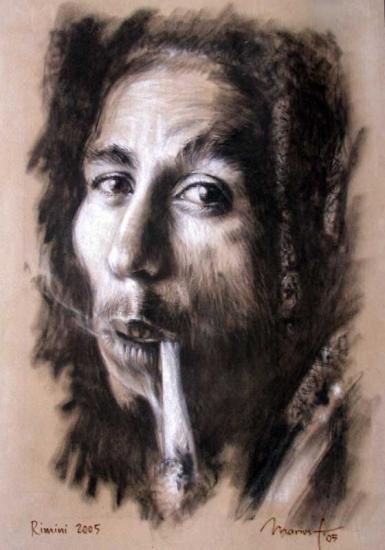 Bob Marley par marius